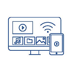 solutions multimédia pour la maison - lecteur multimedia en réseau